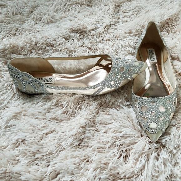 e6c42bad78f Badgley Mischka Shoes - Badgley Mischka Wedding Flats